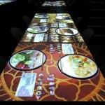 Tables tactiles chez Inamo