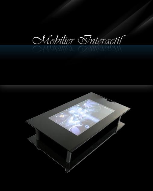 Attention, infos exclusives Génération Tactile ! La société M.I. Mobilier Interactif vient d'annoncer la mise sur le marché d'une table basse de salon entièrement tactile. Son nom : La TBV2...