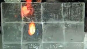 Mur de glace multitouch