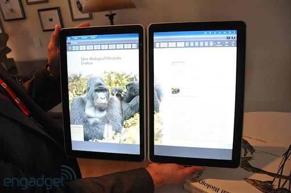 ecran de tablette tactile. Black Bedroom Furniture Sets. Home Design Ideas