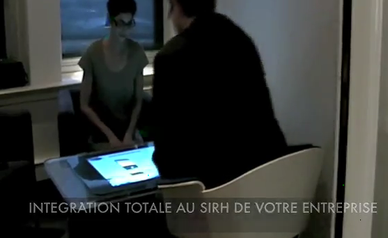 Passer un entretien de recrutement sur une table tactile for Sur la table application