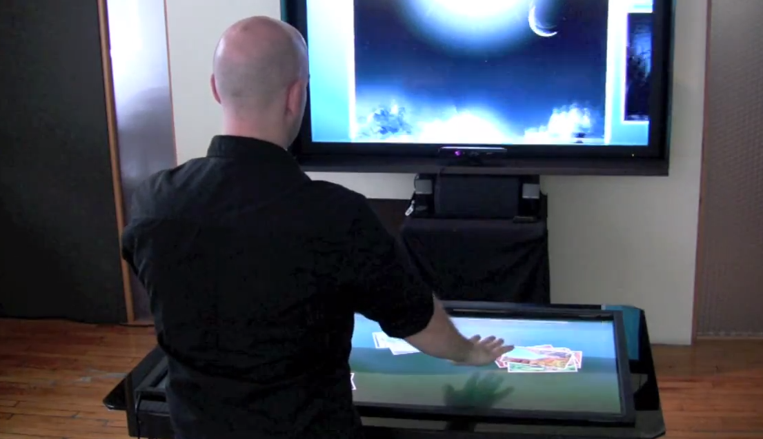 kinect-table-multitouch
