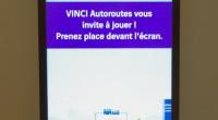 Nous vous en avions déjà parlé rapidement la semaine dernière ici, le groupe VINCI Autoroute a installé sur son stand au Mondial de l'Automobile un dispositif interactif combinant le système...