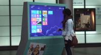 Quoi de mieux qu'un écran tactile géant doté d'un vrai Windows 8 installé dans des espaces publiques pour faire la promo du nouveau système d'exploitation «Touch Ready» de Microsoft ?...